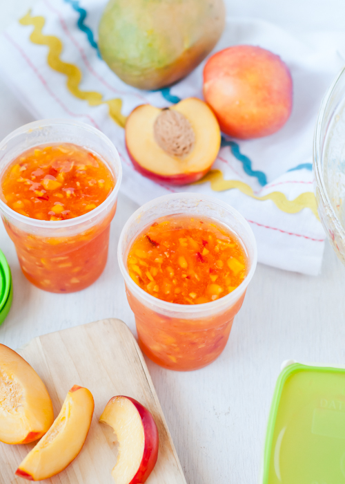 freezing fruits and vegetables for smoothies - freezing produce for smoothies featured by top lifestyle blogger, Design Mom