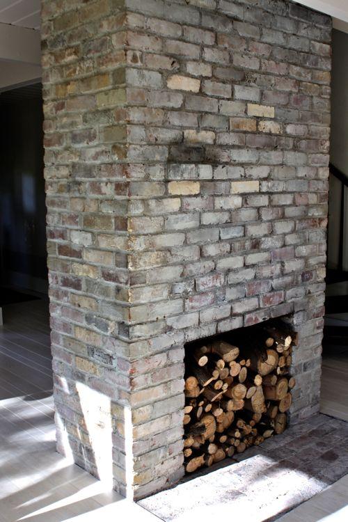 Whitewashed Bricks Tutorial Make, How To Paint A Brick Fireplace Look Like Stone